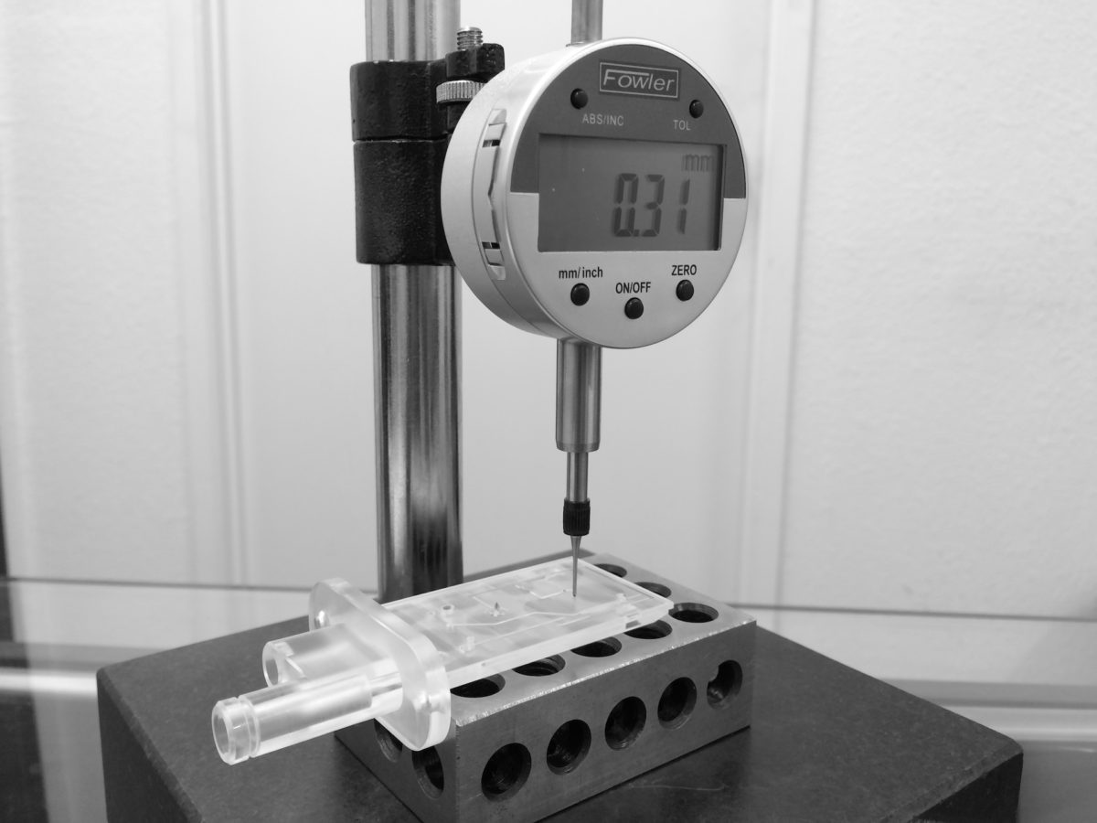 Digital Depth Indicator - Quality Inspection