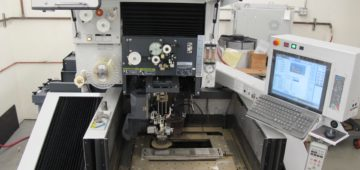inside wire edm machine md + pro III parametric manufacturing