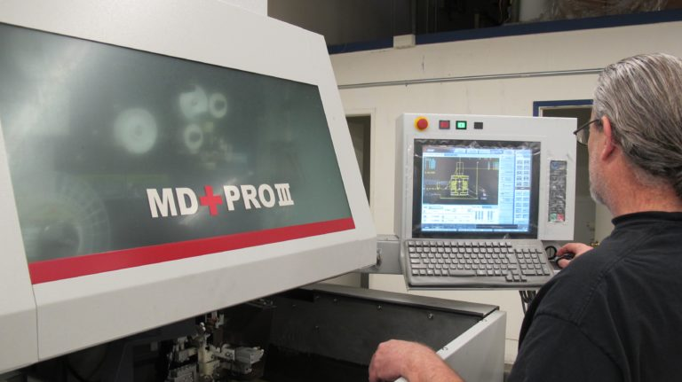 wire edm machining md + pro III parametric manufacturing