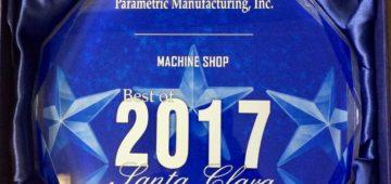 Best of 2017 CNC Machine Shop Parametric Manufacturing