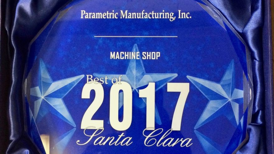 Best of 2017 CNC Machine Shop Parametric Manufacturing