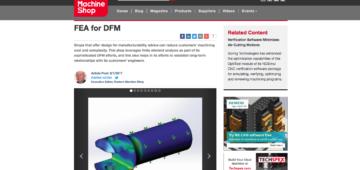 Modern Machine Shop_FEA to DFM_Parametric Manufacturing_2