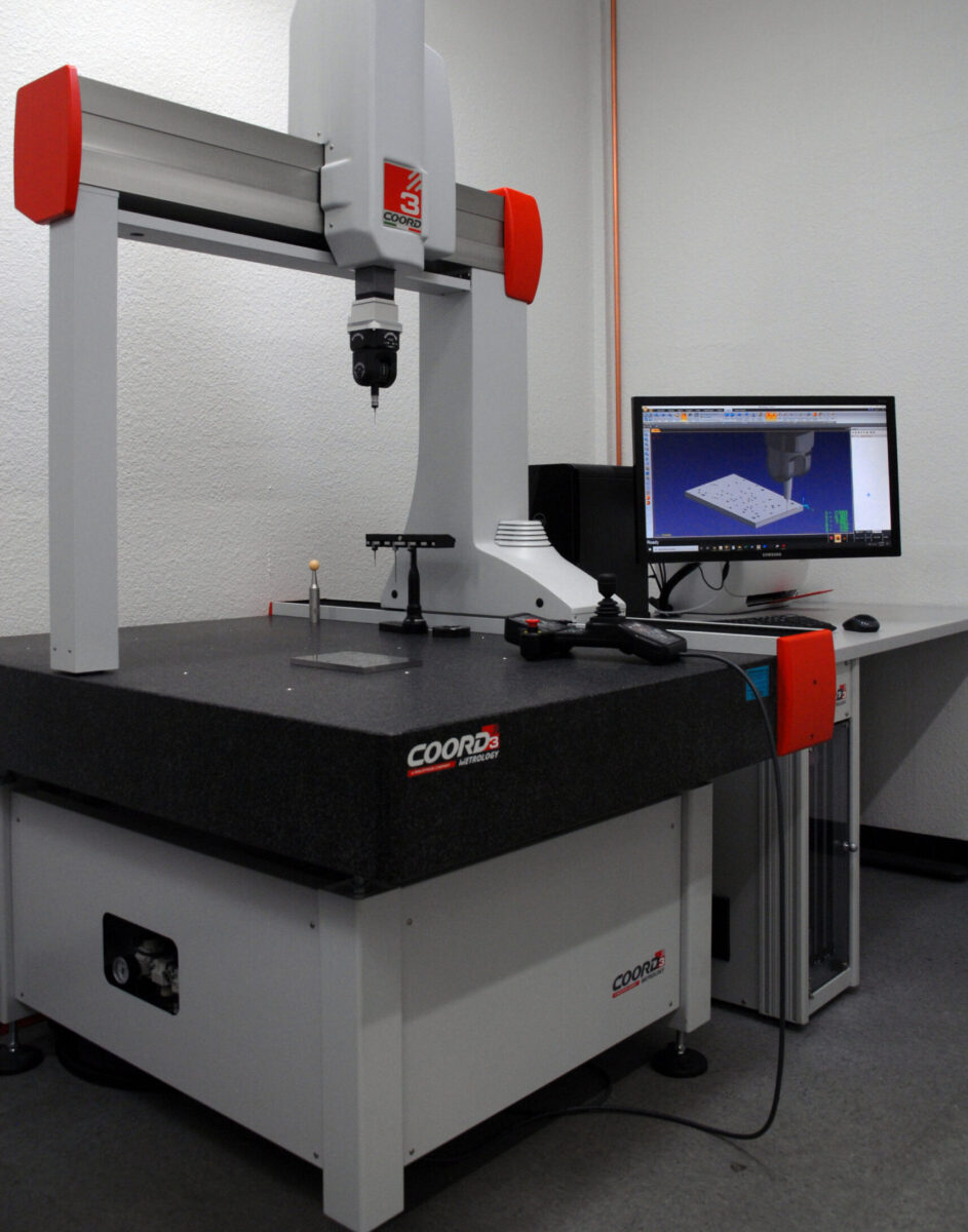 Automatic 3D CMM Inspection Machine Coord3 ARES775MOT